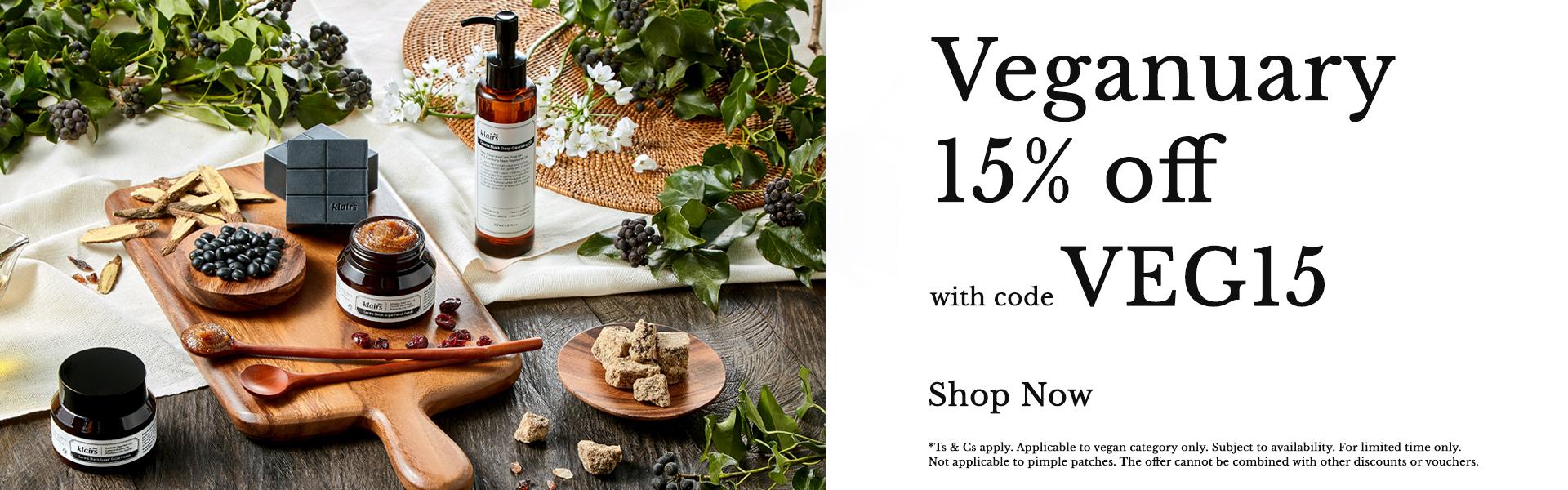 20% off on Korean vegan skincare at Skinsider  with code: VEG20
