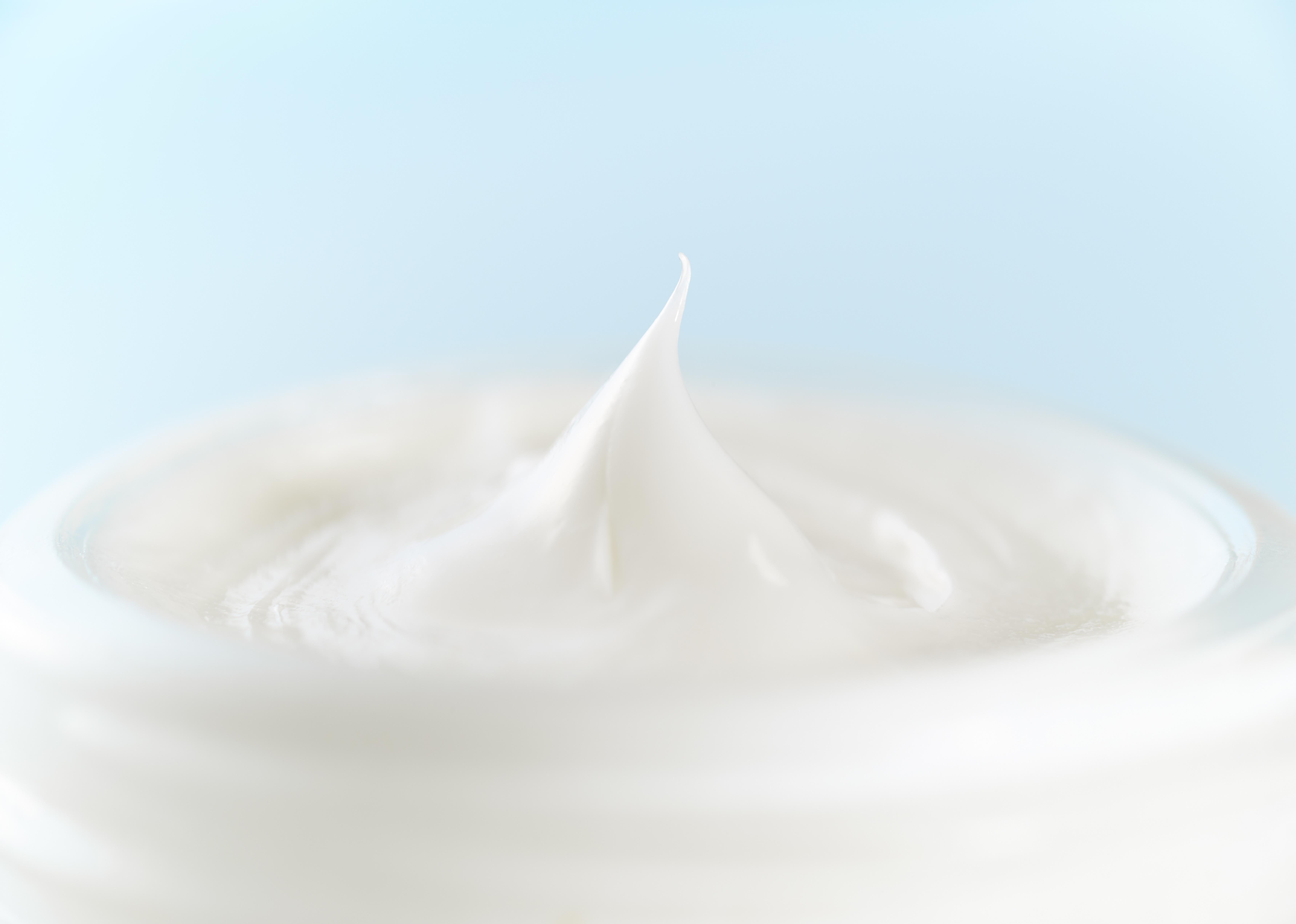 Texture of a moisturiser