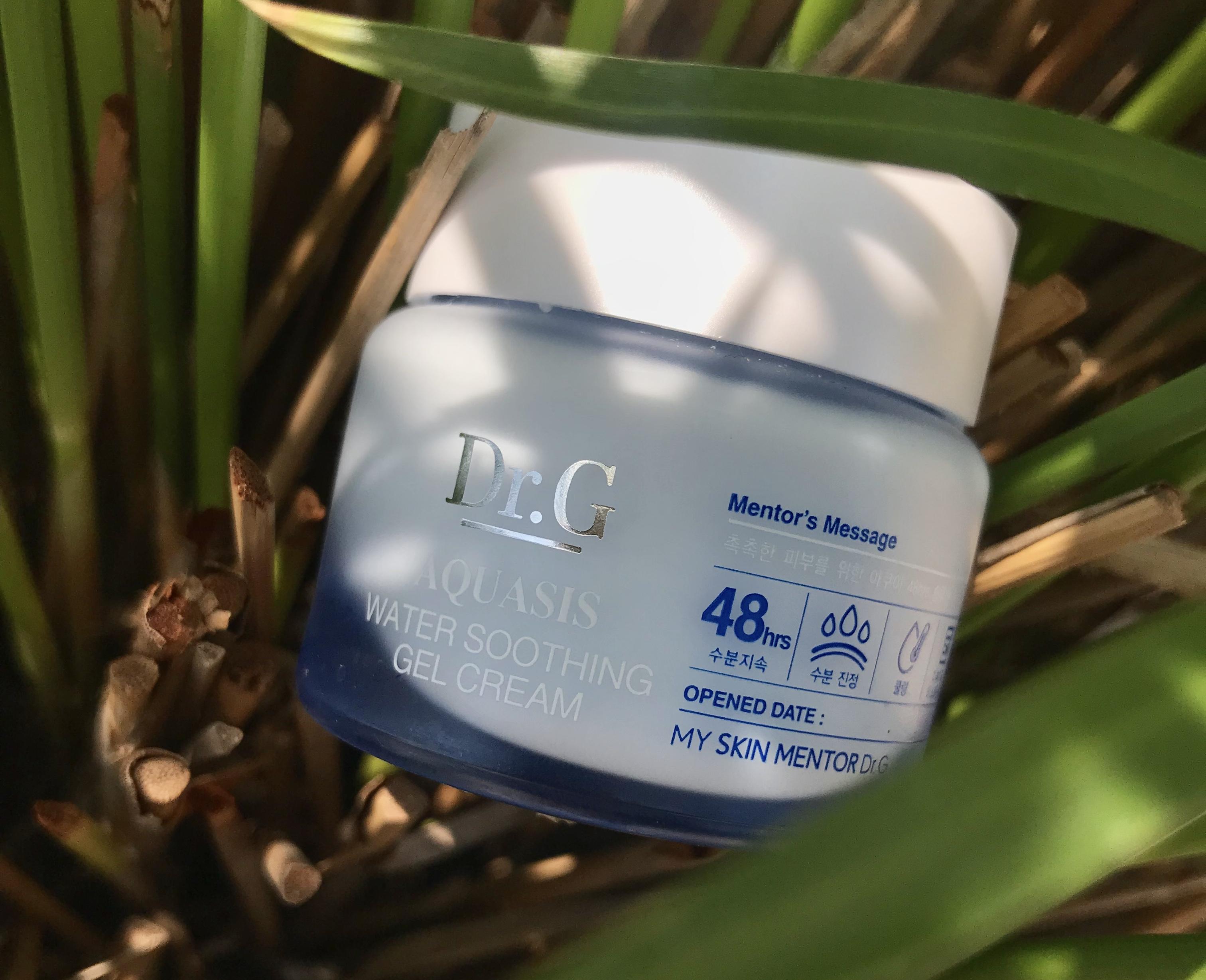 Summer k-beauty essential: Dr G Aquasis Water Soothing Gel Cream