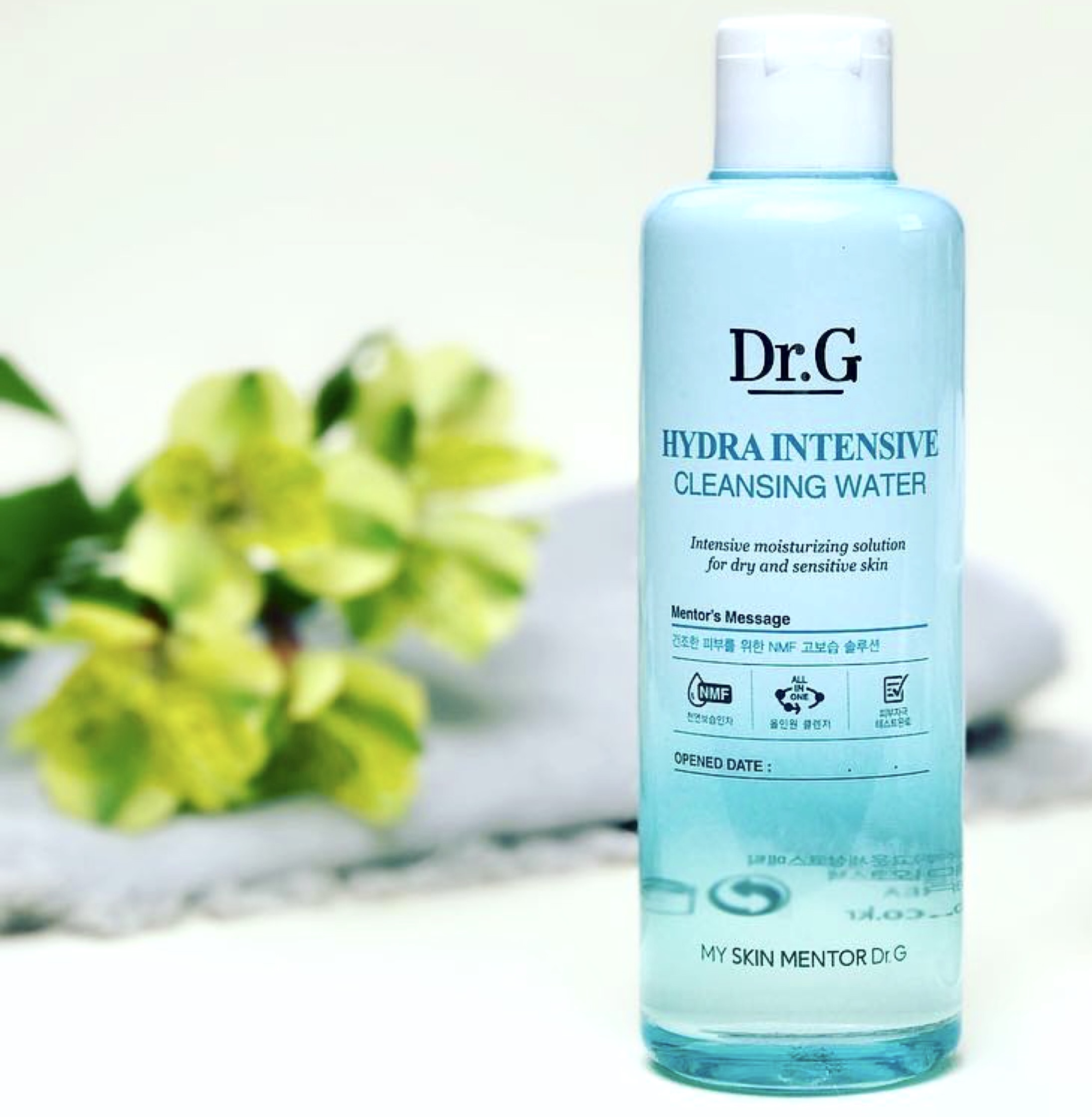Summer k-beauty essential: Dr G Hydra Intensive Cleansing Water