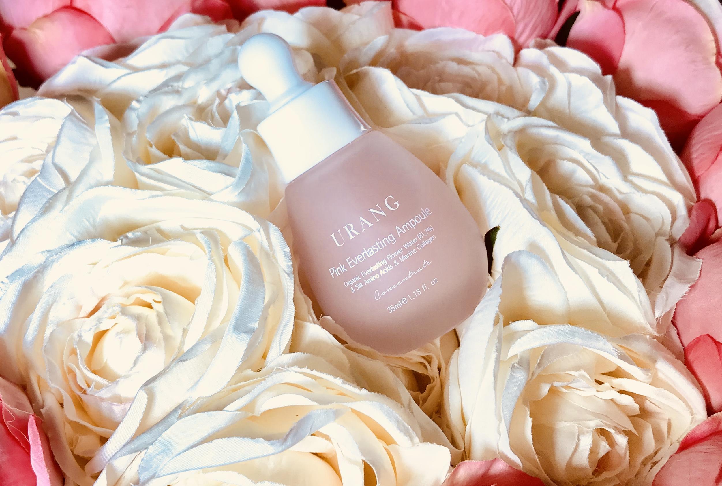 Korean skincare Urang Pink Everlasting Ampoule