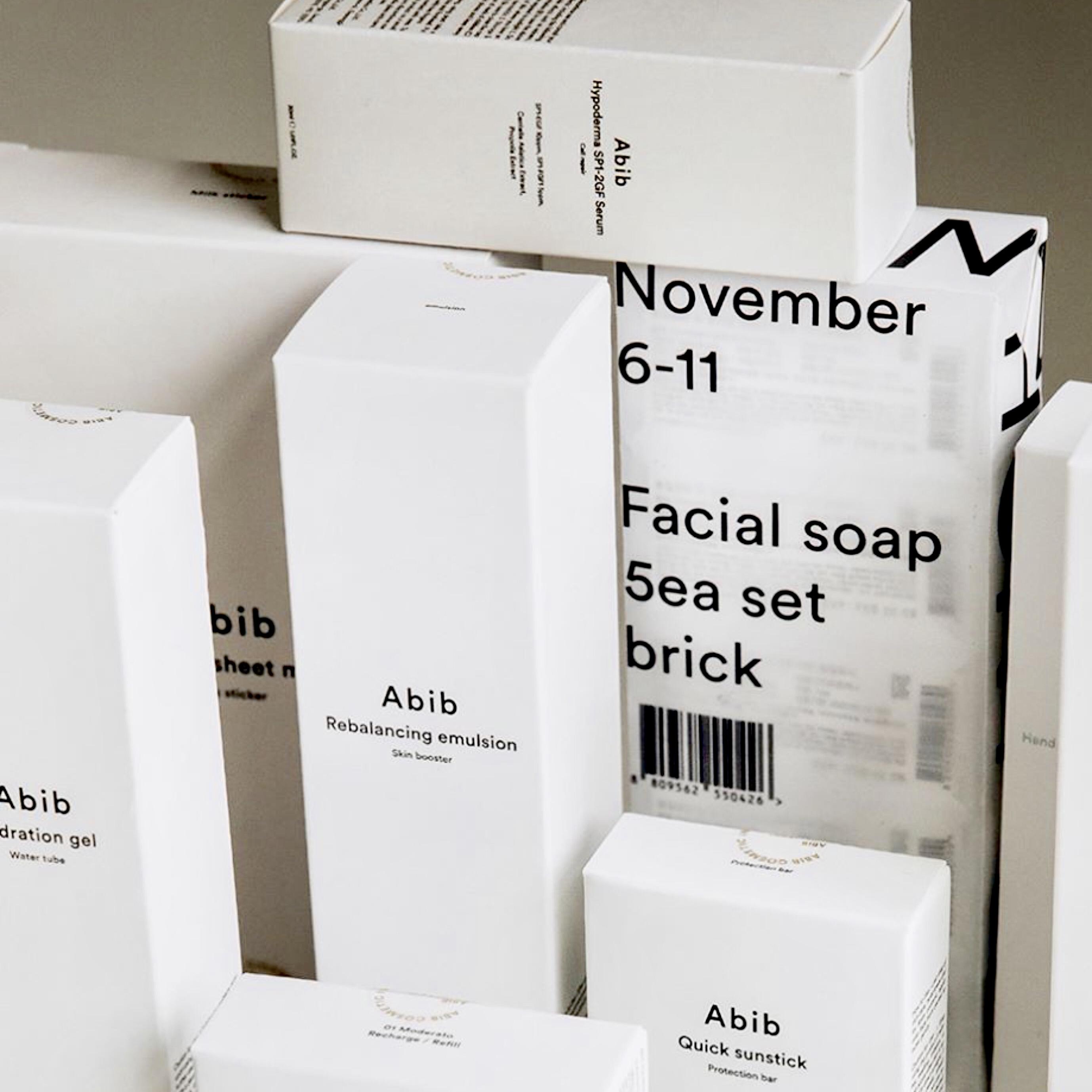 Korean skincare ABIB Cosmetics