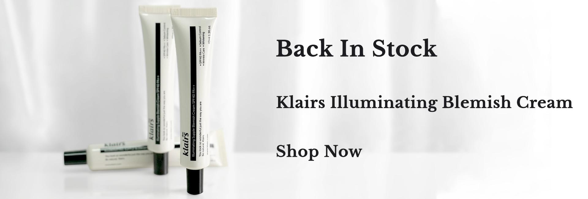 Klairs Illuminating Supple Blemish Cream - back in stock