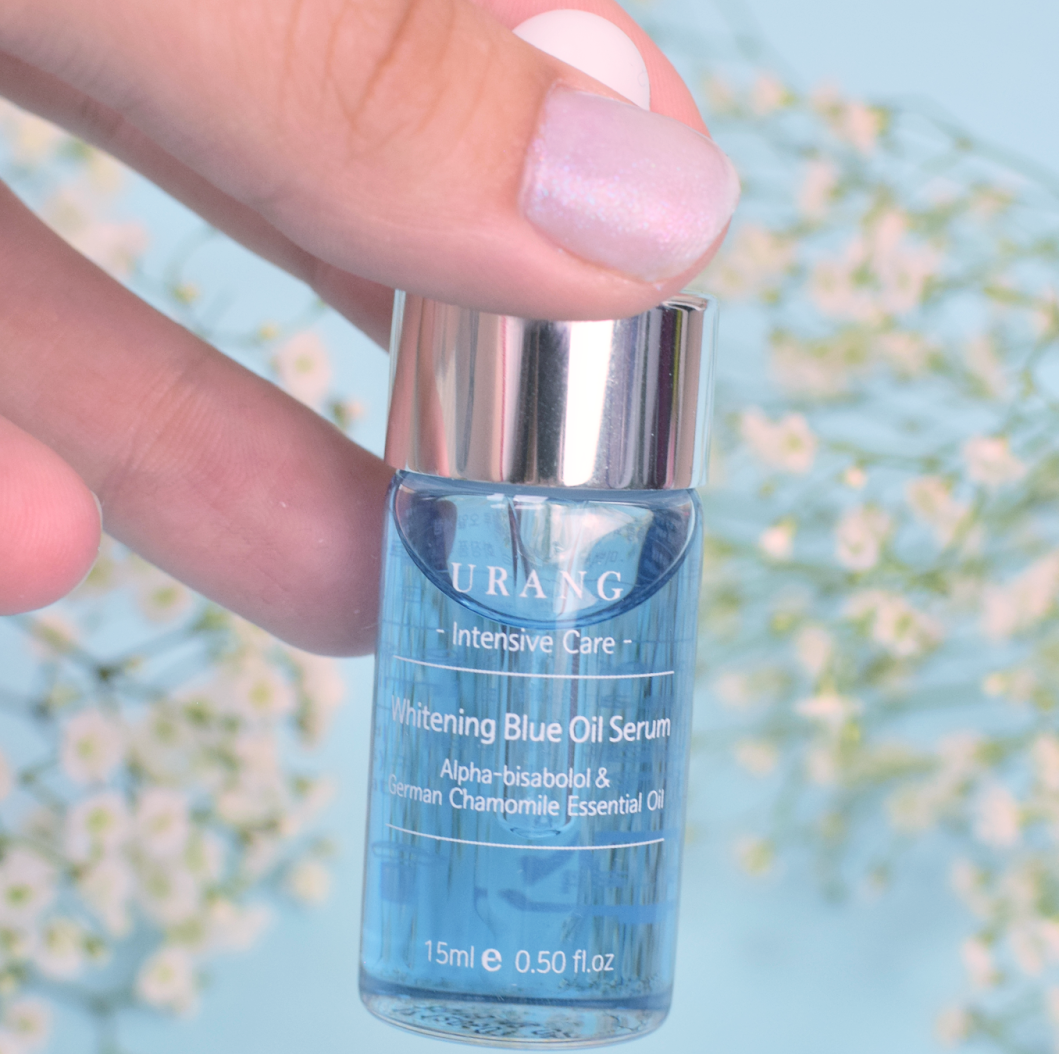 Korean skincare Urang Brightening Blue Oil Serum