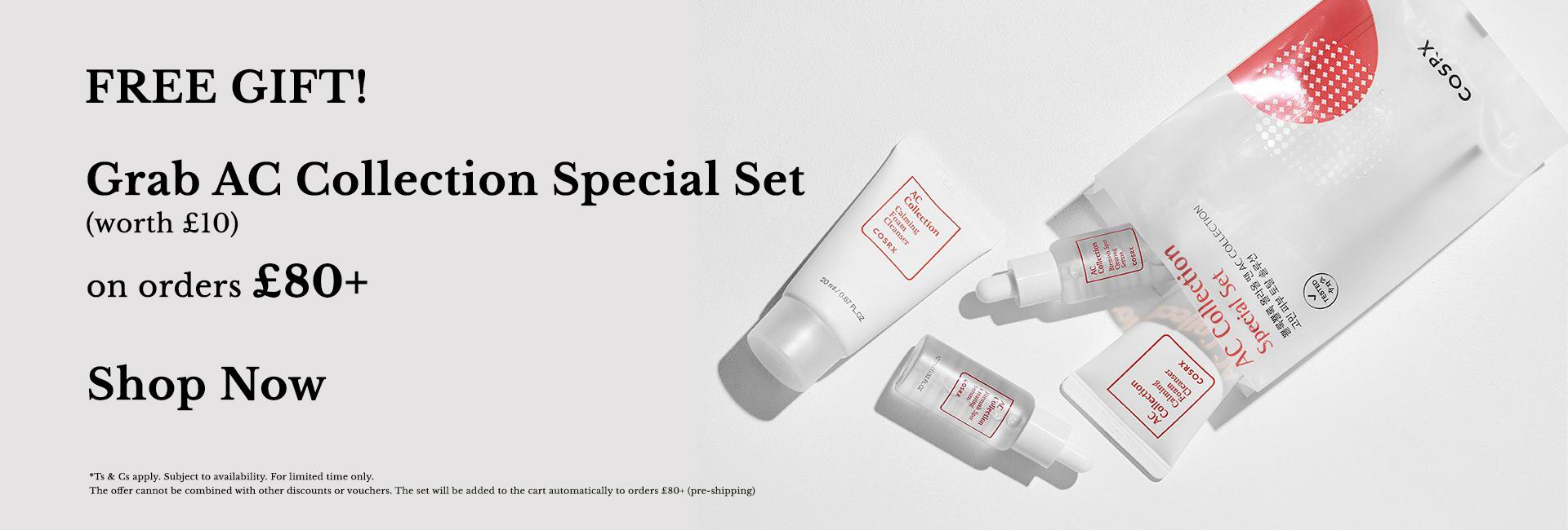 Free COSRX AC Collection Set