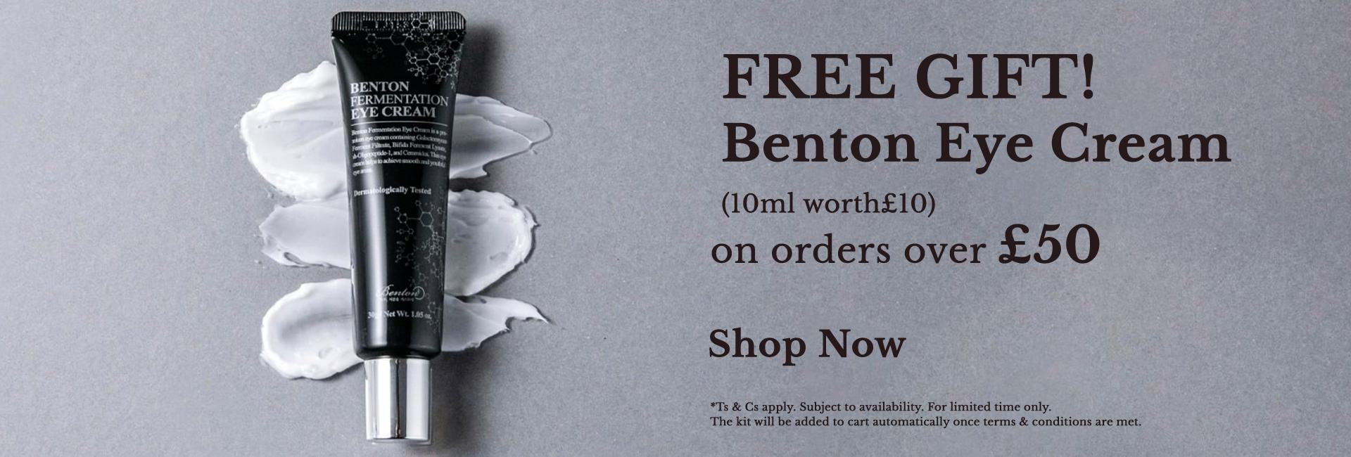 Free Benton Eye Cream