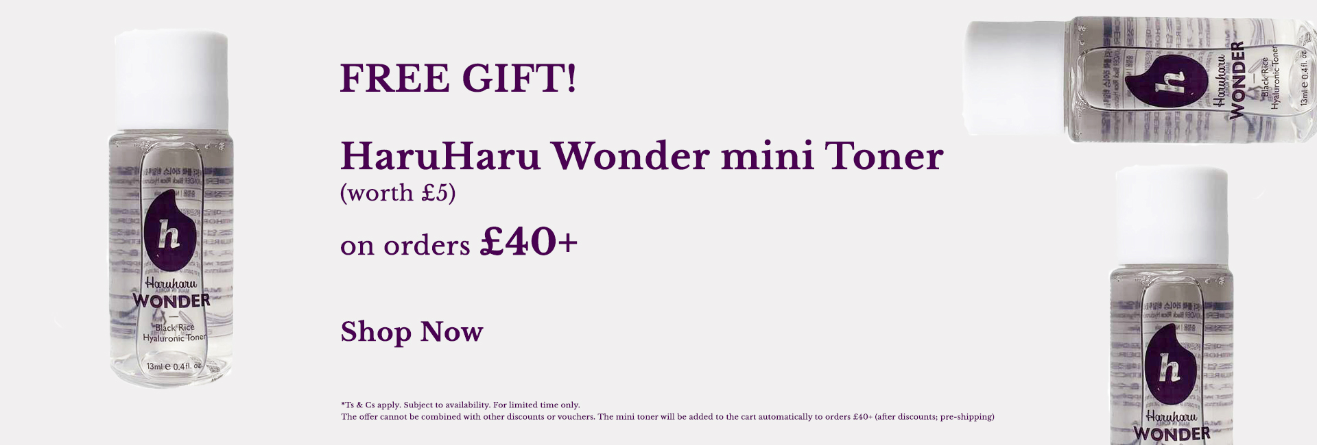 Free Haruharu Wonder Cream
