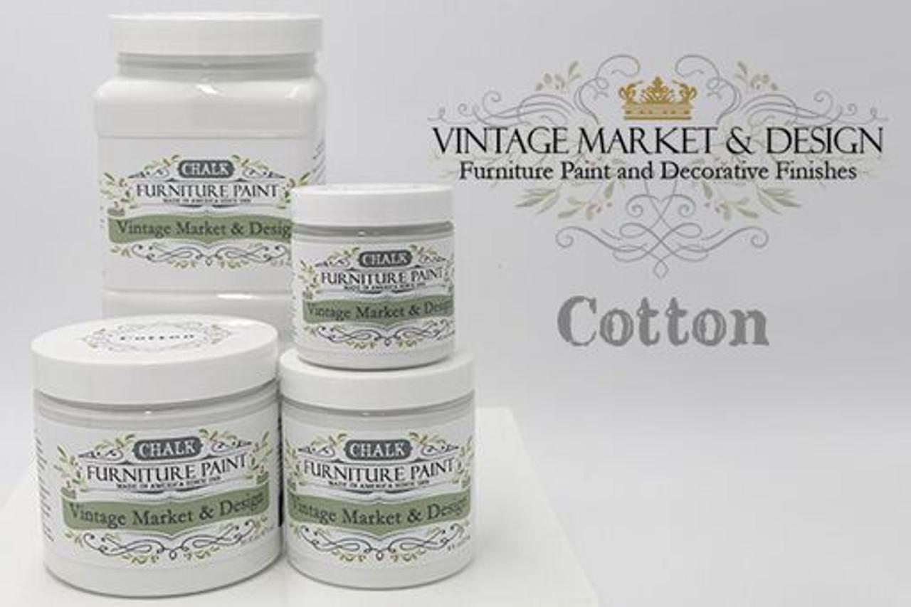 cotton - vintage market & design® furniture paint