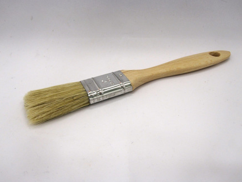 "1"" classic brush ideal for water based paints and decorative finishes."
