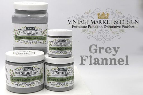Grey Flannel - Vintage Market & Design® Furniture Paint