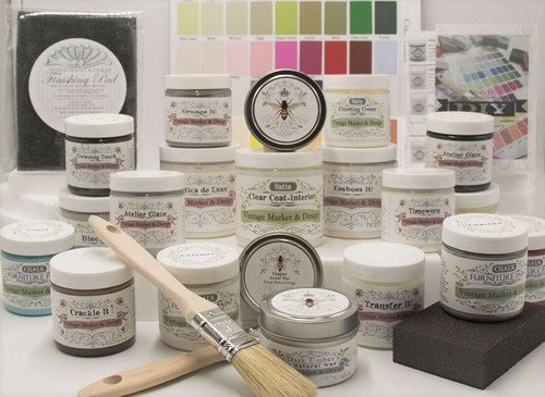 A great way to sample our line of velvety smooth, chalk/ mineral paints and decorative finishes!