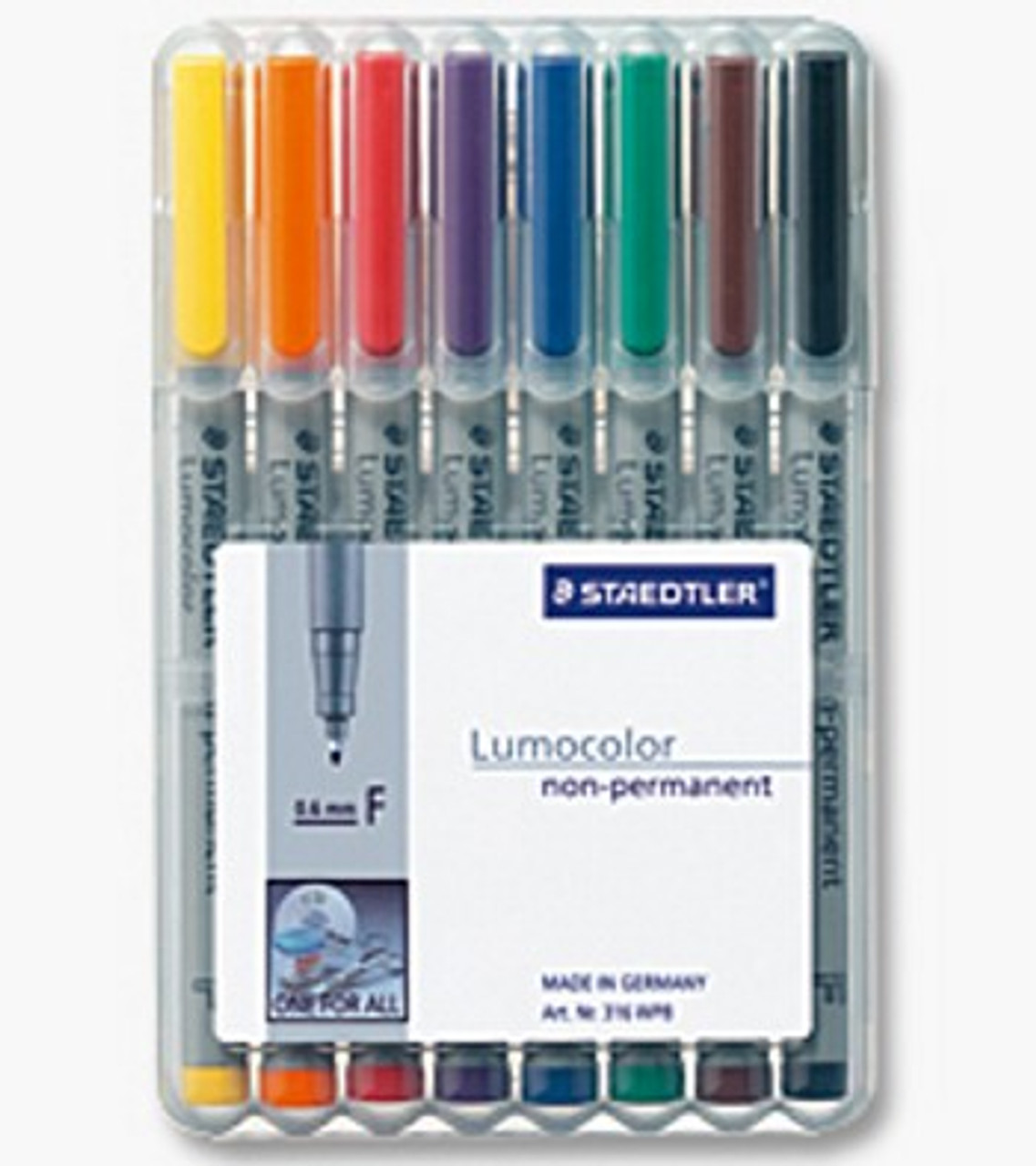Water Soluble Fine (0.6mm) Pack of 8