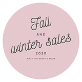 Fall And Winter Sales