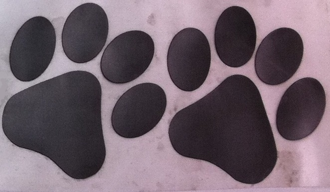 Paw Prints (pair R/L)