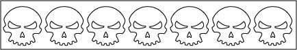 Skull Polka Dots