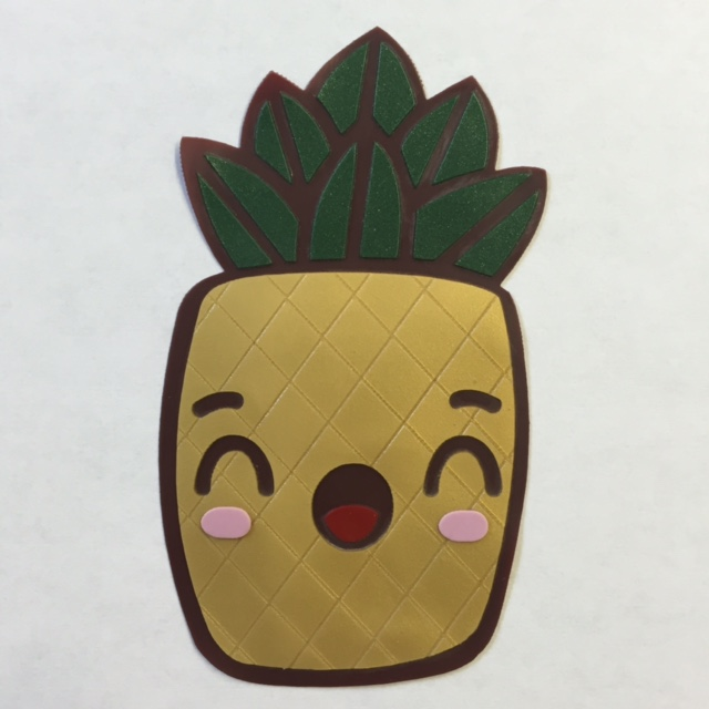 Surprised Brows Pineapple Patch