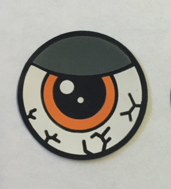 Eye See You - Halloween Patch (One eye)