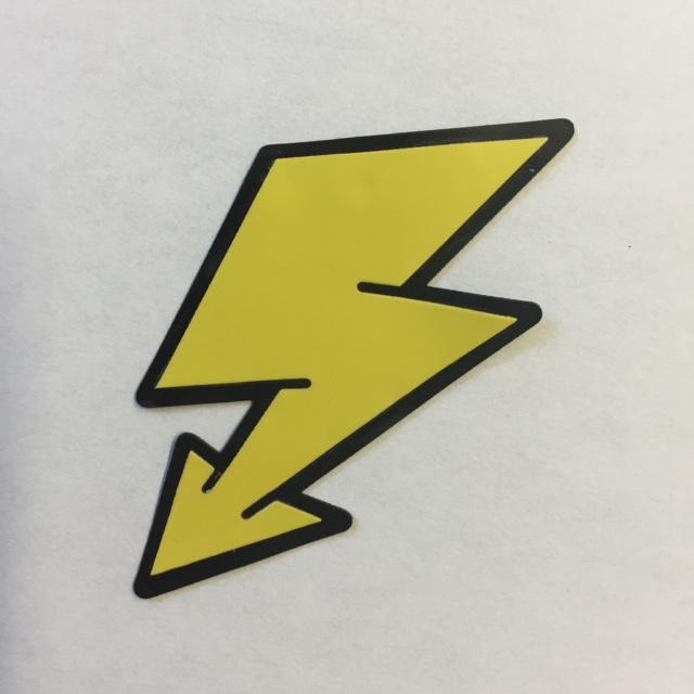 Lightning Bolt - Halloween Patch