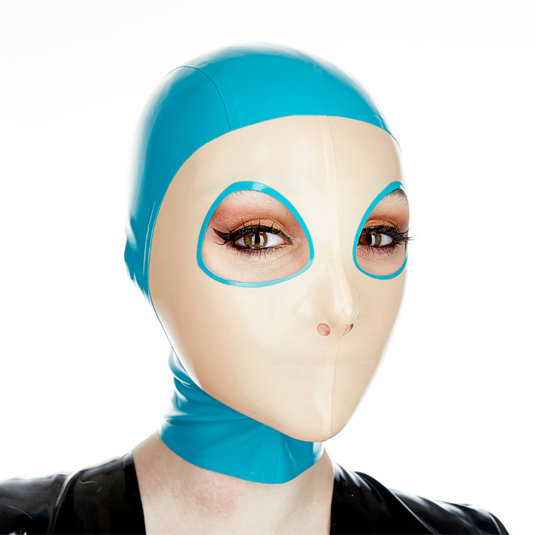 Angle eye shape  Basic trim Turquoise and Mannequin