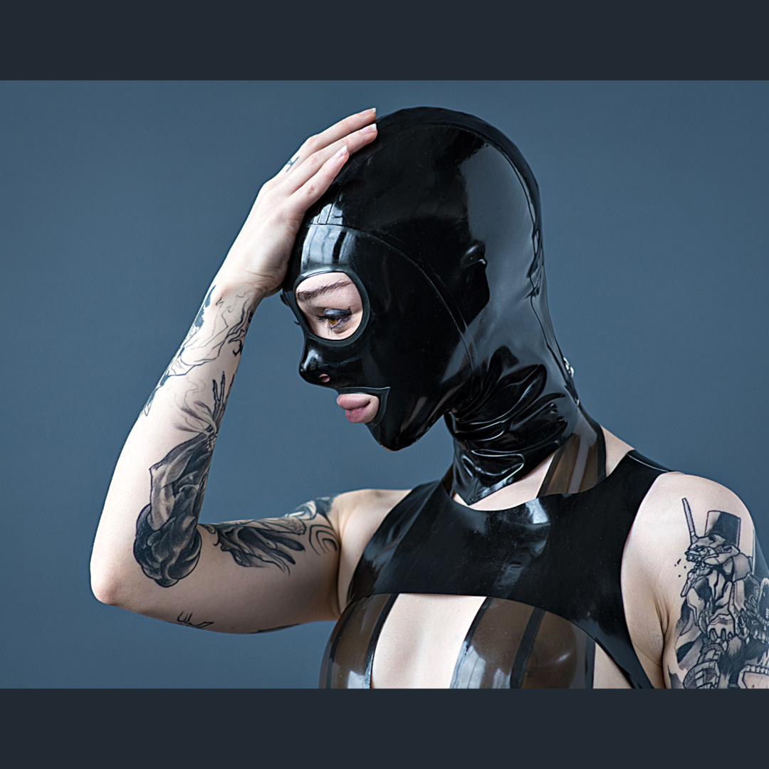 Rubberdoll Cat Eye Hood