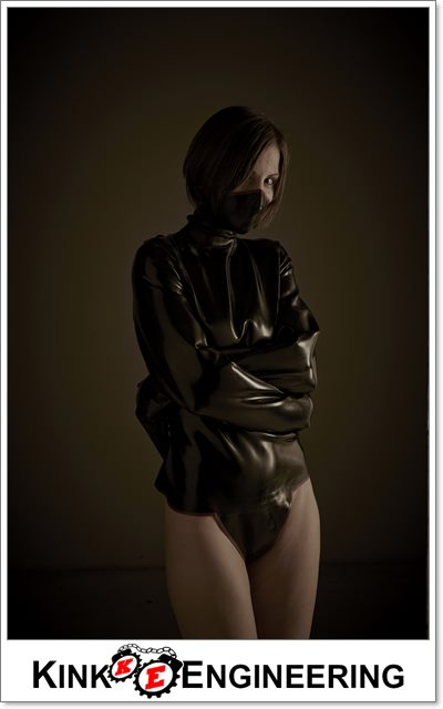 Heavy Rubber Straitjacket