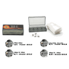 Geek vape Clapton coil &Organic cotton &Battery case(3 in 1 DIY Kit)