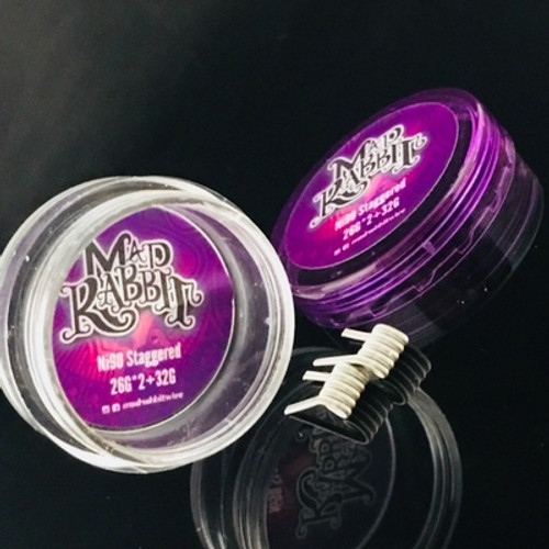 MAD RABBIT PRE MADE COILS ( NICHROME 80/90)Handmade