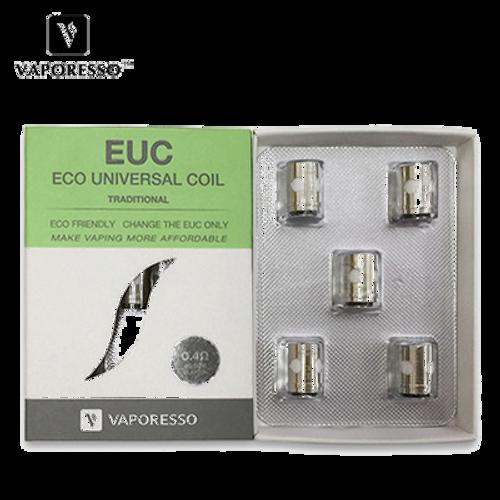 Eco Universal (EUC) Clapton coils - Vaporesso - Value : 0.5 ohm