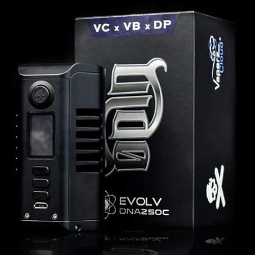 Odin DNA250c Mod By The Vaping Bogan -Vaperz Cloud - Dovpo - gun metal