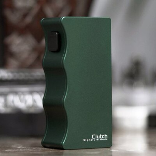 CLUTCH 21700 MOD BY DOVPO, SIGNATURE TIPS & MIKE VAPES - green