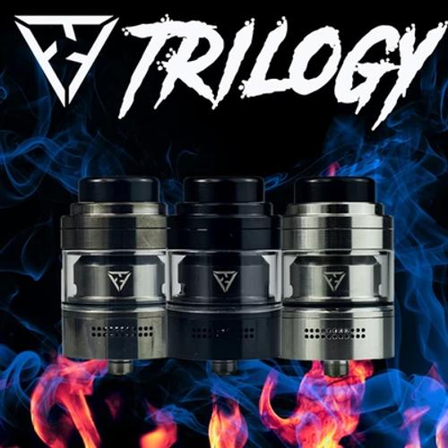 Trilogy RTA By Vaperz Cloud - gun metal