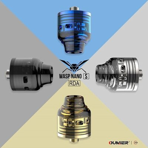 Wasp Nano RDA S Dual 25mm - black