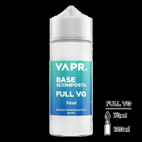 VAPR. Vegetable Glycerine FULL VG - 70ml in 120ml bottle