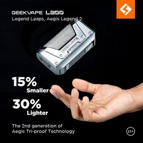 Geekvape L200 (Aegis Legend 2) Box Mod 200W/ black