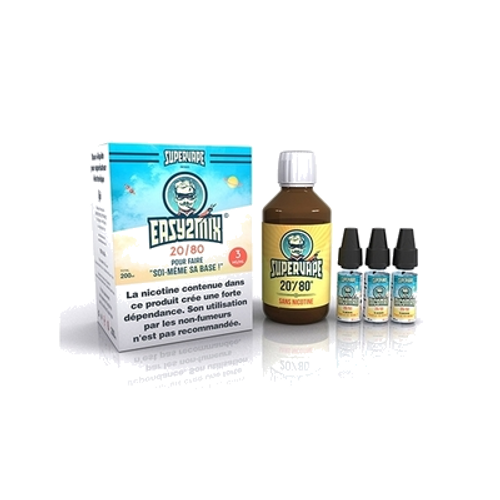 Easy2Mix 200ml 20PG / 80VG - 3mg nicotine - Supervape