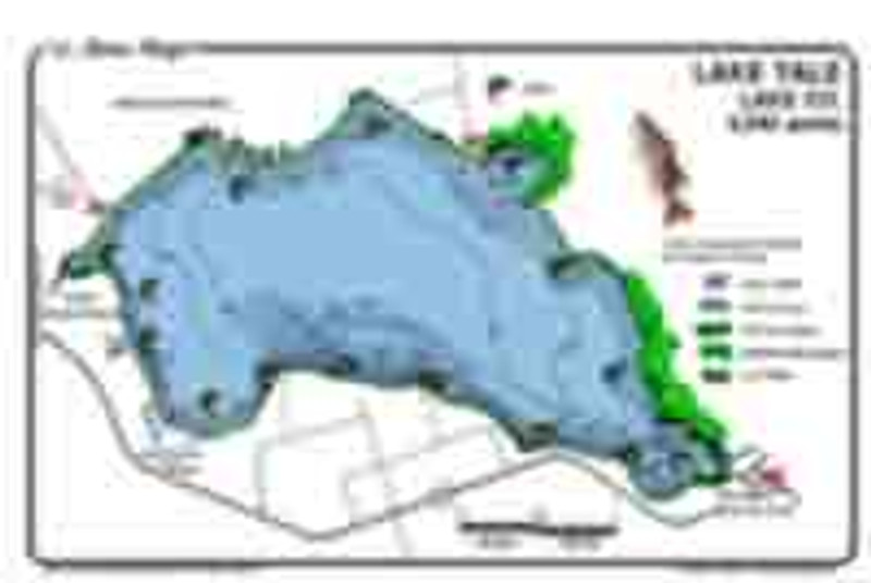 The lake Yale Bass map is the most detailed topo/fishing map available.  Fishing features include offshore hydrilla and peppergrass, reeds, Kissimmee grass, and pads. The best Bass fishing spots are marked in an easy to read  waterproof format.