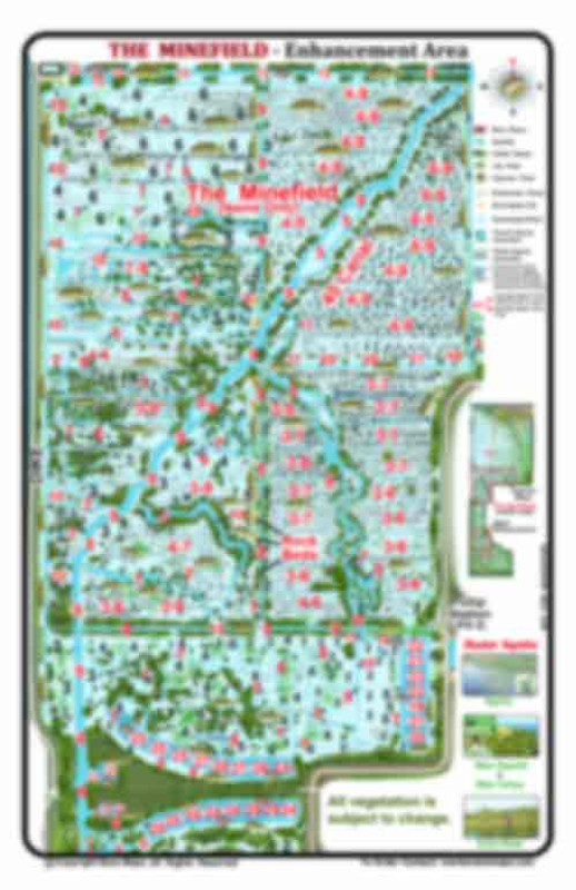 Fellsmere Reservoir (Headwaters) Detailed Enhancement Map