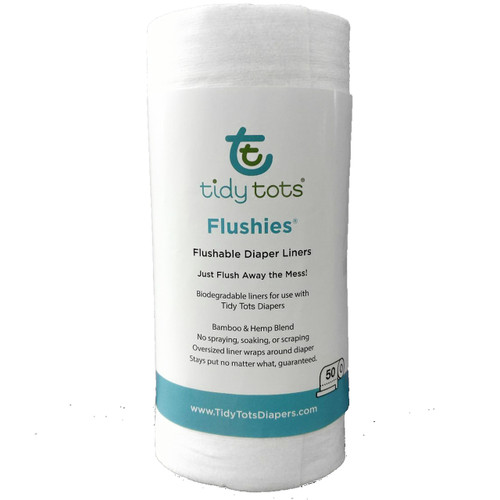 Flushies® Diaper Liners