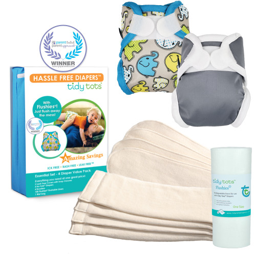 Newborn Cloth Diaper Essential Set