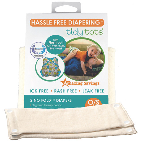 No Fold Diaper 2 Pack