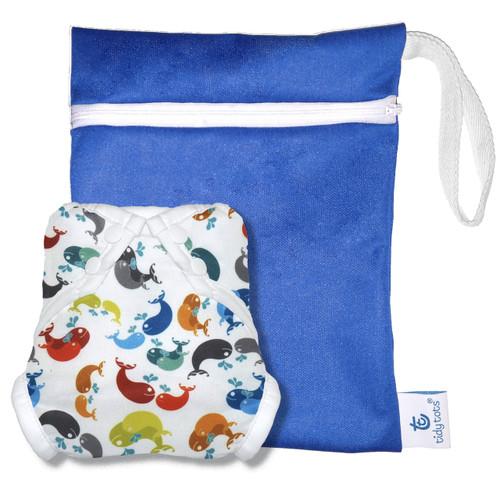 One Size Swim Set with Wet Bag