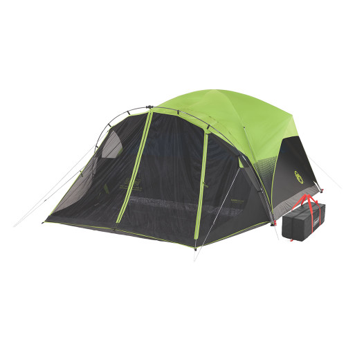Coleman 6-Person Darkroom Fast Pitch Dome Tent w\/Screen Room [2000033190]