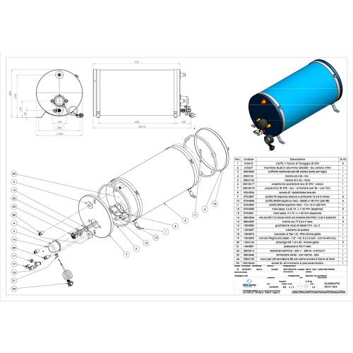 Albin Pump Marine Premium Water Heater 16G - 120V [08-01-027]