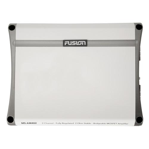 FUSION MS-AM402 2 Channel Marine Amplifier - 400W [010-01499-00]