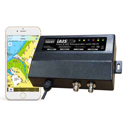Digital Yacht iAISTX Plus Class B Wireless  NMEA 2000 Transponder [ZDIGIAISTXPL]