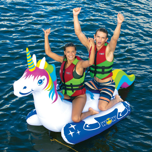 WOW Watersports Unicorn Towable - 2 Person [20-1020]