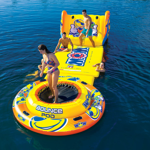 WOW Watersports Bounce Pod Floating Jump Station [20-2030]