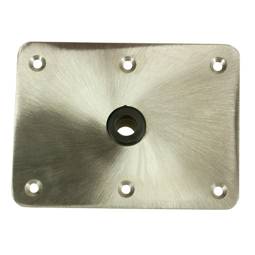 "Springfield KingPin 6"" x 8"" - Stainless Steel - Rectangular Base [1620004]"