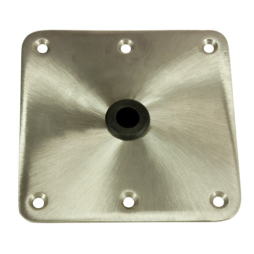 """Springfield KingPin 7"""" x 7"""" - Stainless Steel - Square Base [1620001]"""