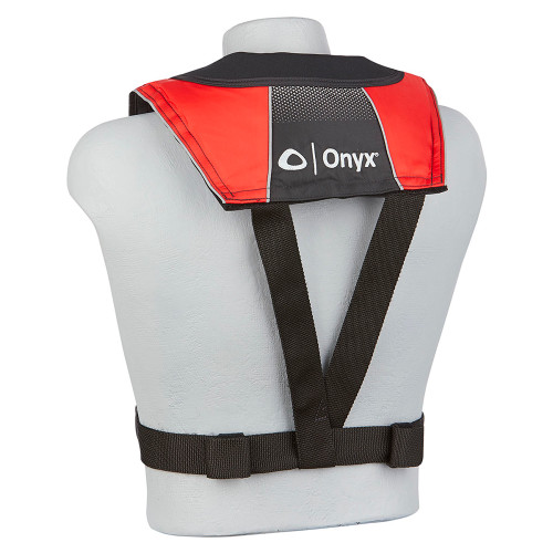Onyx A\/M-24 Series All Clear Automatic\/Manual Inflatable Life Jacket - Black\/Red - Adult [132200-100-004-20]